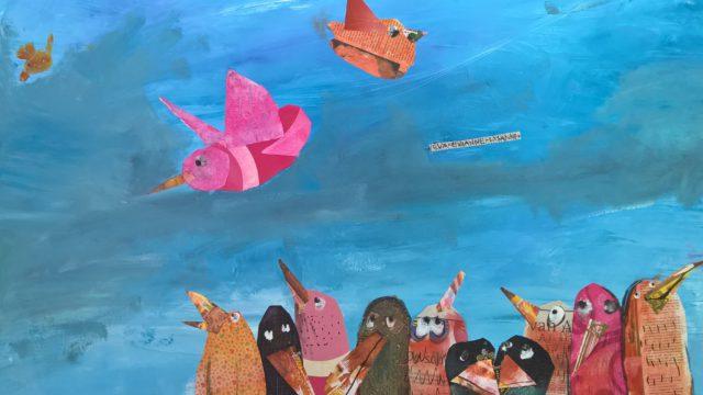 Elke vogel zingt