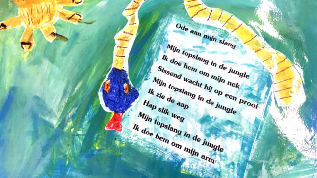 WORKSHOP: Kinderen illustreren gedichten